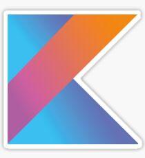 Kotlin logo Sticker
