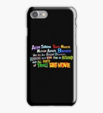 two brothers rick and morty iPhone Case/Skin