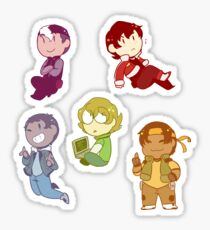 Voltron Stickers Sticker