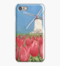 Symbol Of Holland (Inspired By The Gardens Of Keukenhof) iPhone Case/Skin