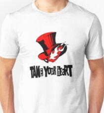 Person 5 Phantom Thieves Logo  Unisex T-Shirt