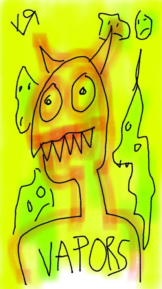"""Devil Gots the Vapors!"" by Richard F. Yates by richardfyates"