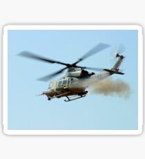 H-1 Upgrades Test Pilot, launches a pair of 2.75 inch rockets from UH-1Y. Sticker