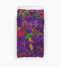 MIDNIGHT IN THE GARDEN OF PSYCHEDELIA Duvet Cover