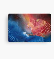 Phoenix fight Canvas Print
