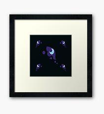 My little Pony - Nightmare Moon Cutie Mark V3 Framed Print