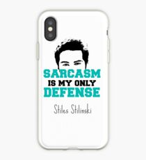 teen wolf stiles stilinski iPhone Case