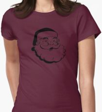Santa Women's Fitted T-Shirt