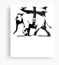 Banksy a inspiré: Missile de transport d'éléphant de guerre Impression métallique