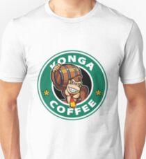Konga Donkey Kong Coffee Unisex T-Shirt
