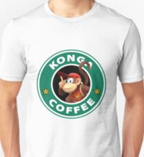 Konga Diddy Coffee Unisex T-Shirt
