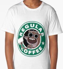 Regular Rigby Coffee Long T-Shirt