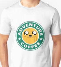 Adventure Jake Coffee Unisex T-Shirt