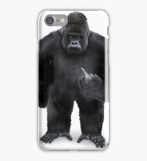 Angry kong iPhone Case/Skin