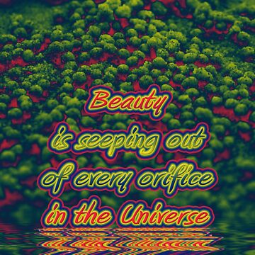 Beauty is seeping out of every orifice in the universe by wondawe