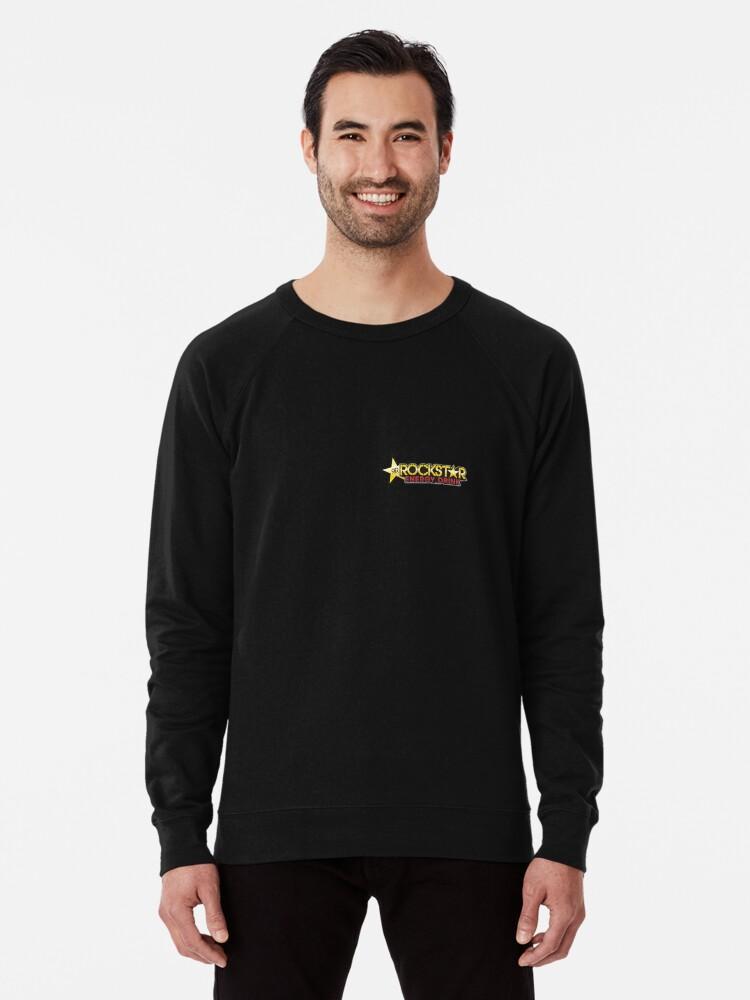 Alternate view of Rockstar energy drink Lightweight Sweatshirt