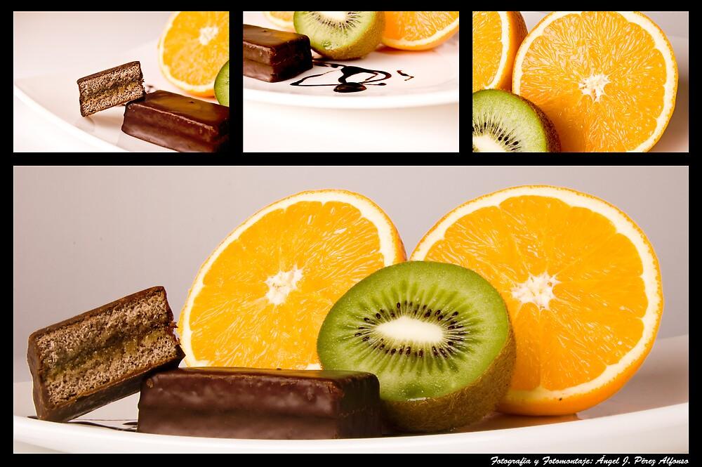 Oranges Cake by Angel Jesús Pérez Alfonso
