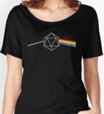 Dark Side of the Moon d20 Dungeon Master Women's Relaxed Fit T-Shirt
