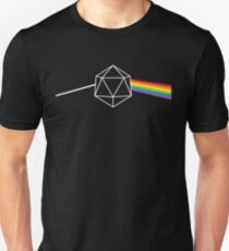 Dark Side of the Moon d20 Dungeon Master Unisex T-Shirt