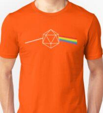 Dark Side of the Moon d20 Dungeon Master Unisex T-Shirt