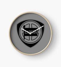Reloj Lancia logo (black)