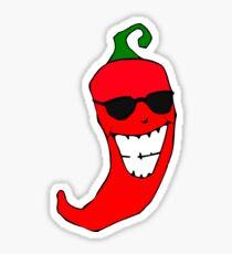 Cool Mister Red Hot Pepper Sticker