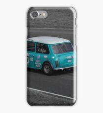 Blue Vintage Mini iPhone Case/Skin