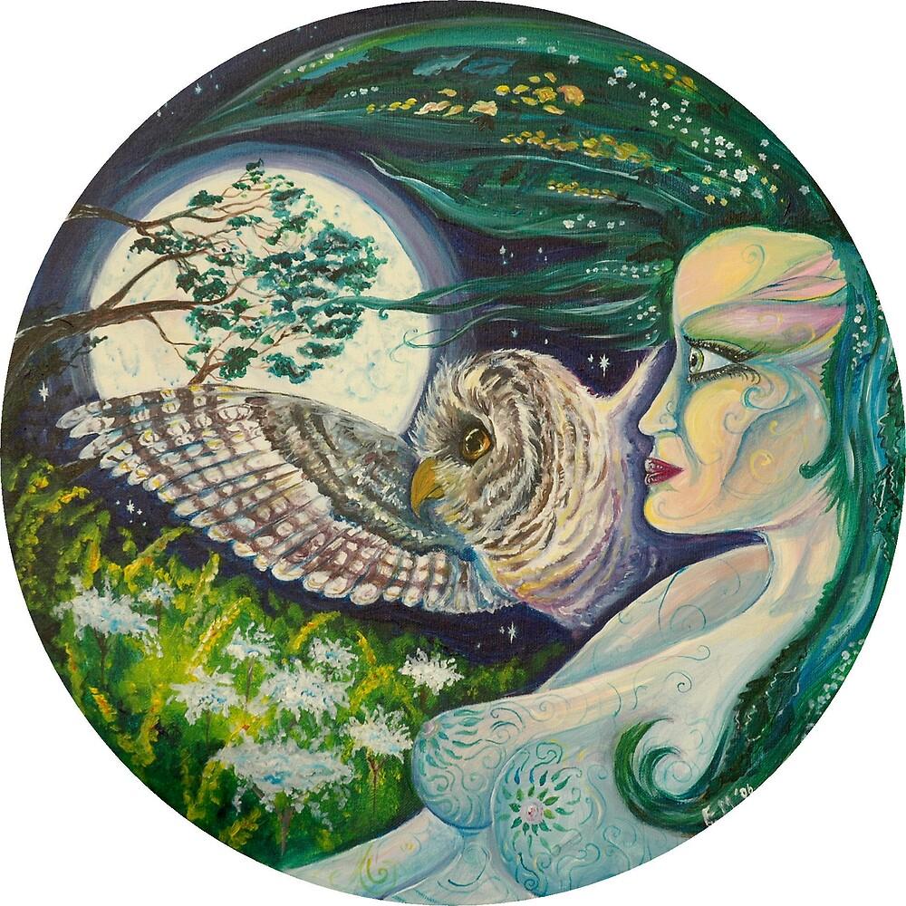Blodeuwedd by Emily Carding