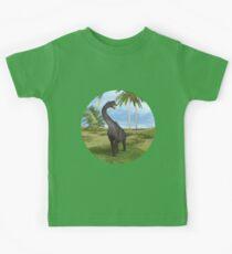 Dinosaur Brachiosaurus Kids Tee