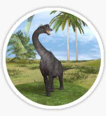 Dinosaur Brachiosaurus Sticker