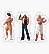 Fatal Fury SNK Sticker