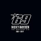Tribute To Nicky Hayden by harleemqui