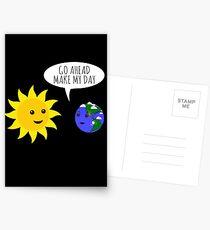Los, verschöner 'mir den Tag! Postkarten