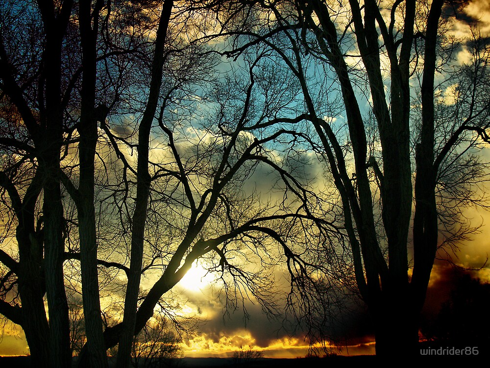 Sunset by windrider86