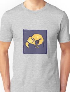 TIRED OLD DOG AT NIGHT  Unisex T-Shirt