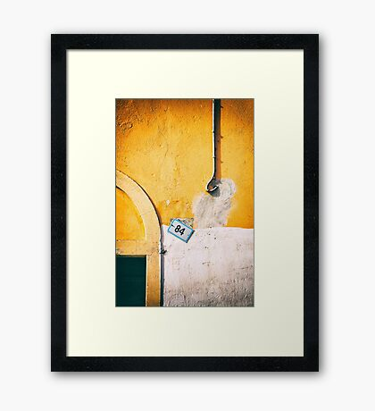 Eighty-four Framed Print