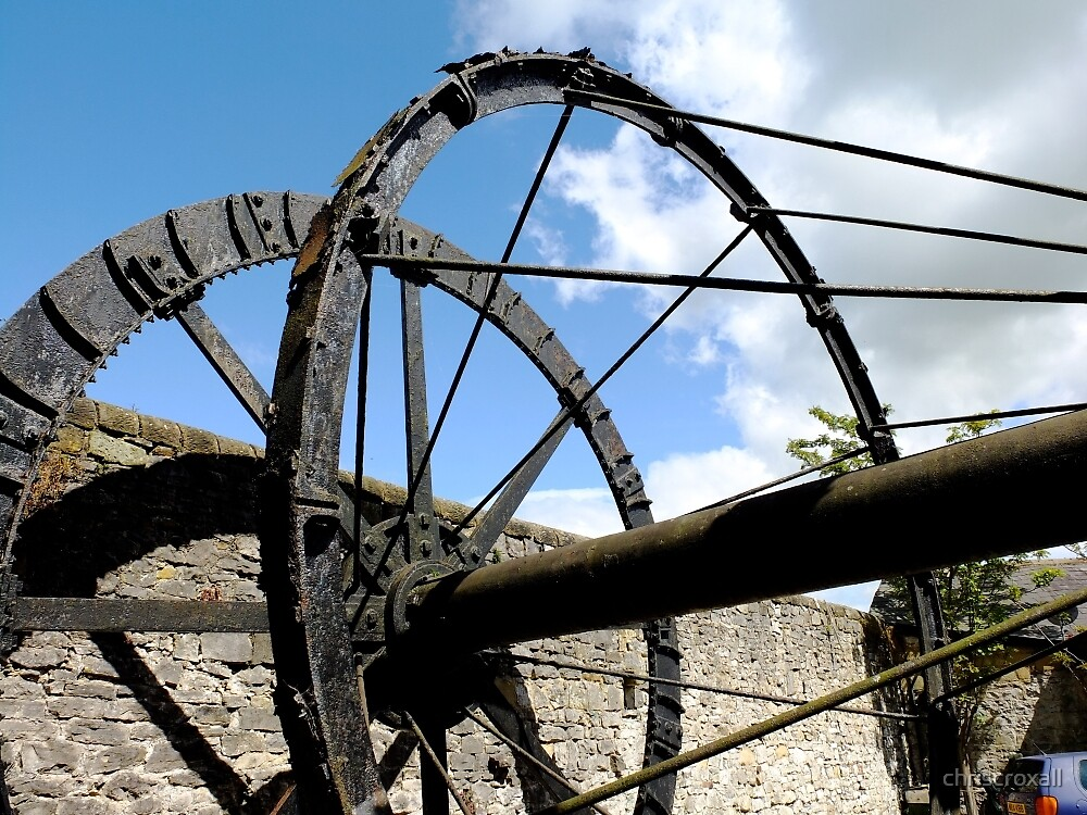 The Mill Wheel by chriscroxall