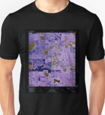USGS TOPO Map Florida FL Crystal Lake 345706 1982 24000 Inverted Unisex T-Shirt