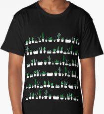 Spiky Stripes Long T-Shirt