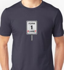 Form One Planet Unisex T-Shirt