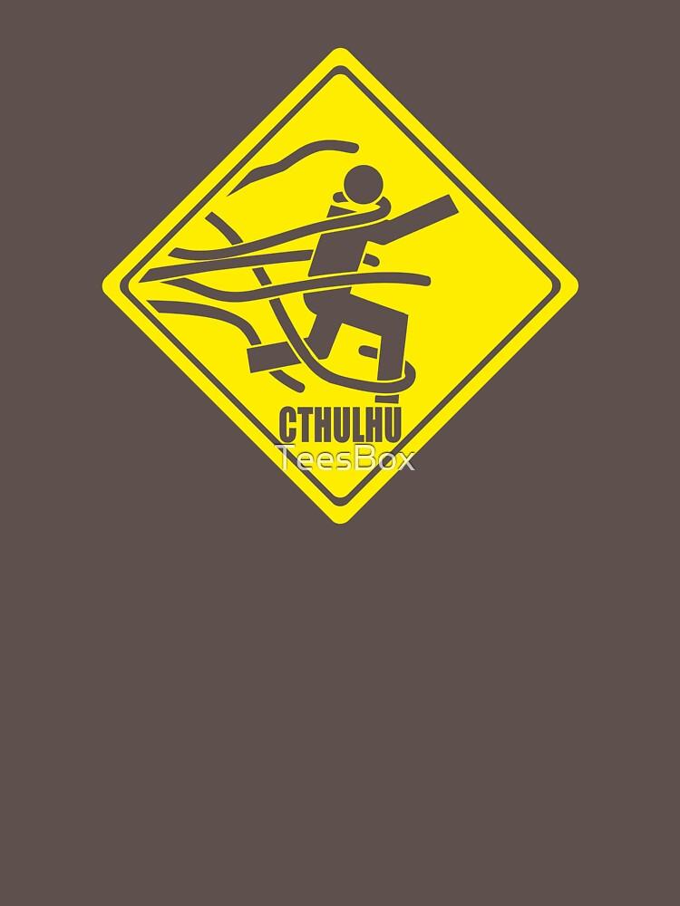 Warning: Cthulhu by TeesBox
