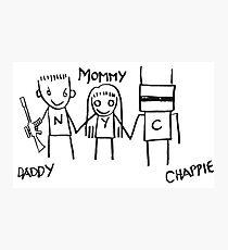 CHAPPiE Stick Man Graffiti Photographic Print