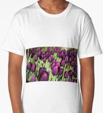 Spring Tulips Long T-Shirt