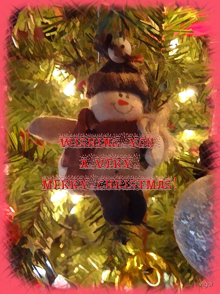 Merry Christmas Card for You by vigor