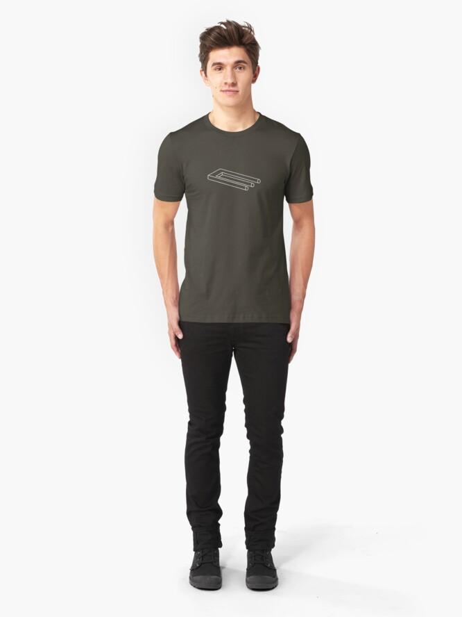 Alternate view of Blivet - Devil's Fork Slim Fit T-Shirt