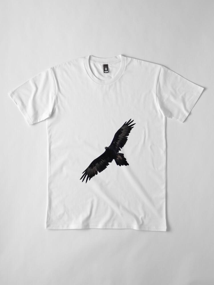 Alternative Ansicht von Wedge-Schwanz Premium T-Shirt