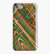 Magnetic fields iPhone Case/Skin