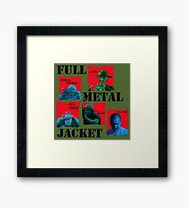 Full metal jacket Framed Print