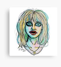 Big Bright Blue Eyes Metal Print