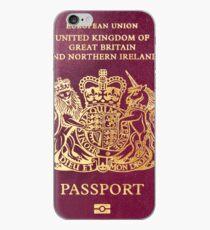 British passport  iPhone Case